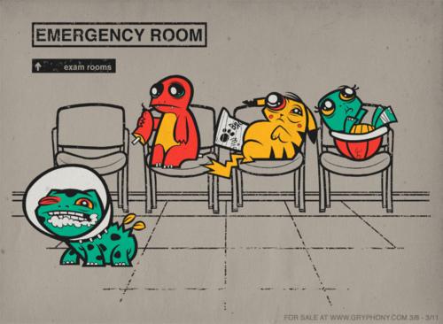 Broken Pokemons by Justin White