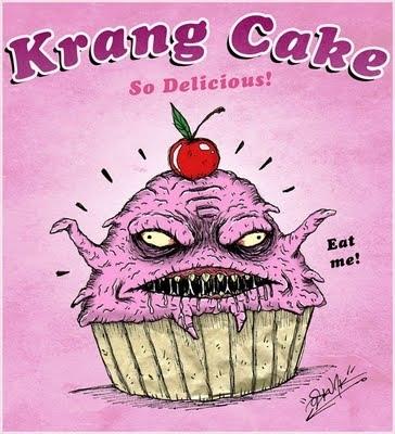Krang Cake by OSKUNK
