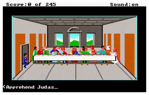 Police Quest: In Pursuit of the Death Angel and Leonardo da Vinci's 'The Last Supper'