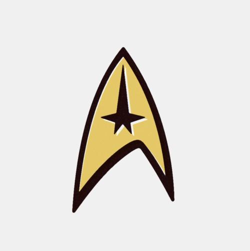 Command Insignia, Star Trek (1966)
