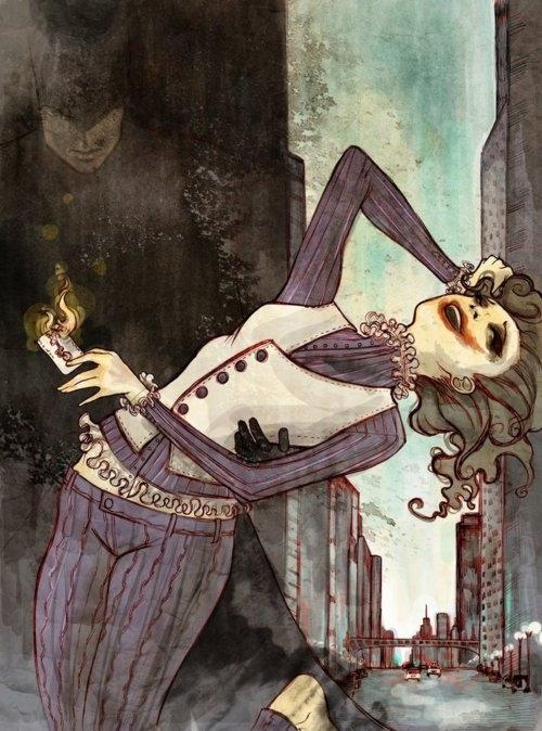 Joker as a Girl by Robbie Lawrence