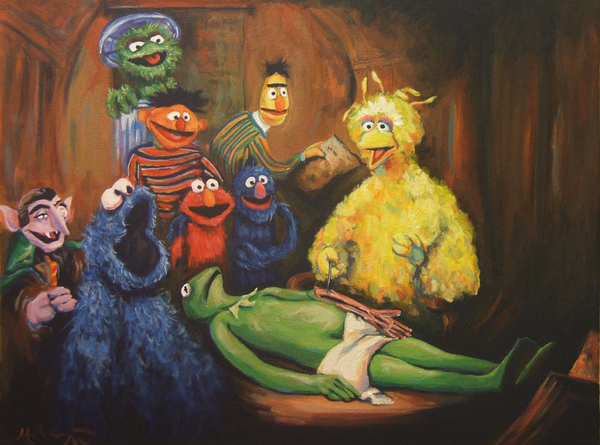 Sesame Street Anatomy by Hillary White