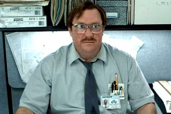 Milton from 'Office Space'