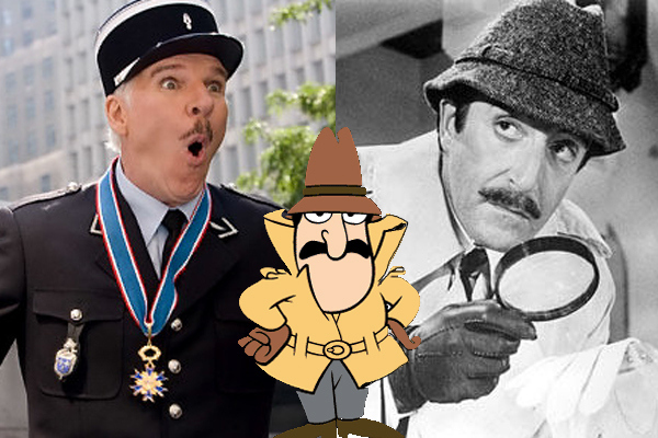 Inspector Clouseau from 'The Pink Panther'