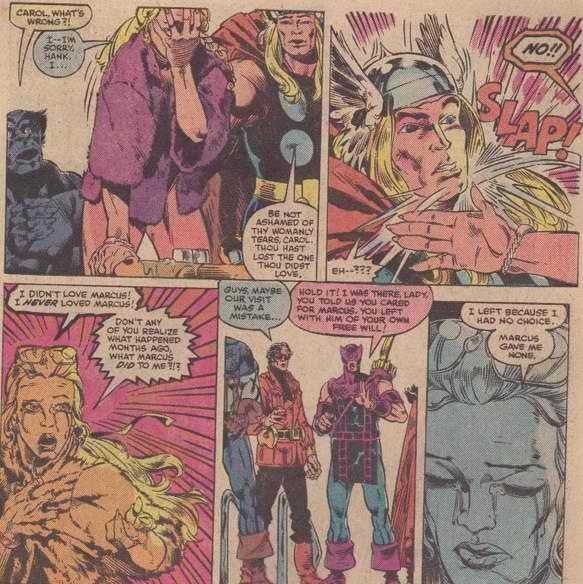 2. Ms. Marvel has the Worst Honeymoon Ever