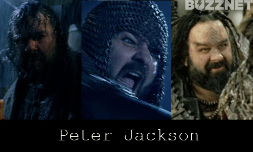 Peter Jackson in 'Lord of the Rings'