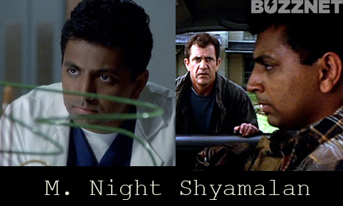 M. Night Shyamalan in 'The Sixth Sense' and 'Signs'