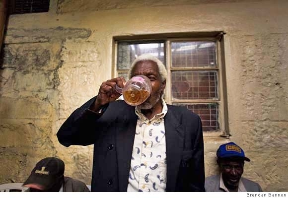 He Has A Beer Named After Him In Kenya.