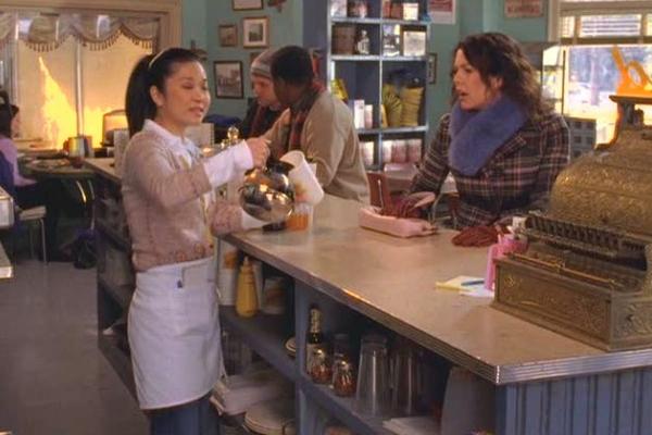 Luke's Diner on 'Gilmore Girls'