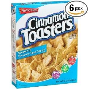 """Compare to Cinnamon Toast Crunch"""