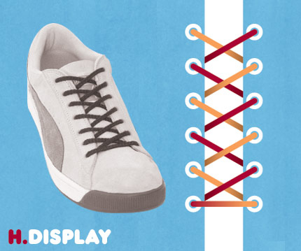 15 funky ways to tie shoelaces - enhanced buzz 12876 1351108879 1 - 15 Funky Ways To Tie Shoelaces