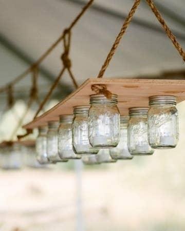 diy lighting design.  Lighting Mason Jars Can Become A Simple Hanging Light In Diy Lighting Design O