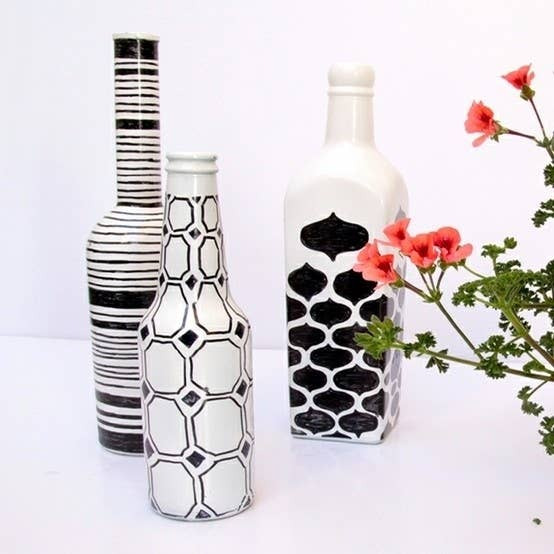 89302b56637 22 DIY Ways To Reuse Empty Booze Bottles