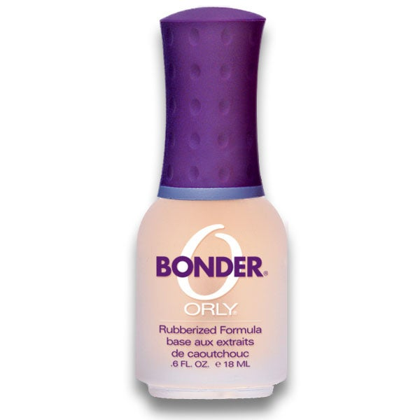 Professional manicurists swear by this stuff. At $7.99, Orly Bonder is a little pricey, but once you try it, you won't go back. The rubberized effect helps to adhere polish.