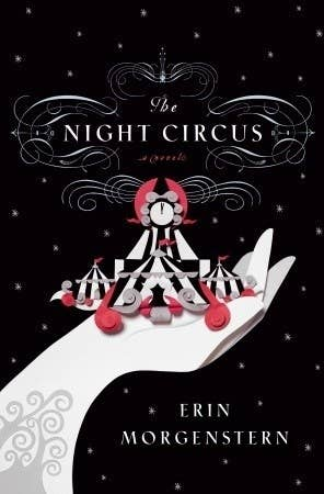 The Night Circusby Erin MorgensternWritten in rich, seductive prose, this spell-casting novel is a feast for the senses and the heart. The circus arrives without warning. No announcements precede it. It is simply there, when yesterday it was not. Within the black-and-white striped canvas tents is an utterly unique experience full of breathtaking amazements. It is called Le Cirque des Rêves, and it is only open at night.  True love or not, the game must play out, and the fates of everyone involved, from the cast of extraordinary circus per formers to the patrons, hang in the balance, suspended as precariously as the daring acrobats overhead.Get it here.