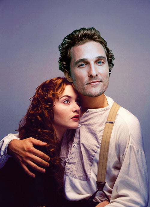 1 Studios Wanted Matthew Mcconaughey To Play Jack But James Cameron Insisted On Having Leonardo Dicaprio Play The Role