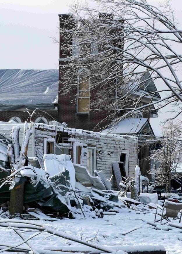 Henryville, Indiana.