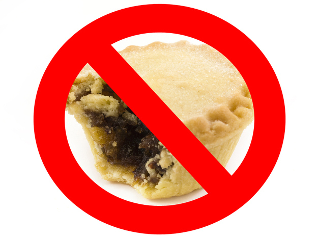 18. England - It is illegal to consume a mince pie on Christmas Day.