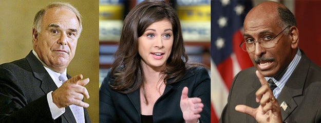 """Here's why:• """"Early Start"""" is getting killed in the ratings. HLN's """"Morning Express"""" is beating them in every demo. [Morning Cable News Ratings, April 30, 2012]• Erin Burnett's prime-time show is just not working out. [7PM Cable News Ratings, April 30, 2012]• She's much better with co-hosts.• Michael Steele and Ed Rendell are really good on cable and deserve everyday gigs. MSNBC will never give them anything like that, making them easy to poach. Sure, they're under contract at MSNBC but CNN is flush with cash and could easily buy them out.• Wether it's politics, sports, pop culture or finance, all three can B.S. their way through any topical segment like total pros. [Michel Steele's A Rabid """"Glee"""" Fan - NYPOST.com]• The inevitable crossfires between Rendell and Steele are sure to be more watchable than the typical cacophony of arguing Morning Joe regularly offers up, and way more insightful than what ever it is that they do over at Fox & Friends."""
