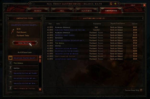 Diablo III's Auction House
