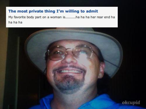 creepy dating site profiles