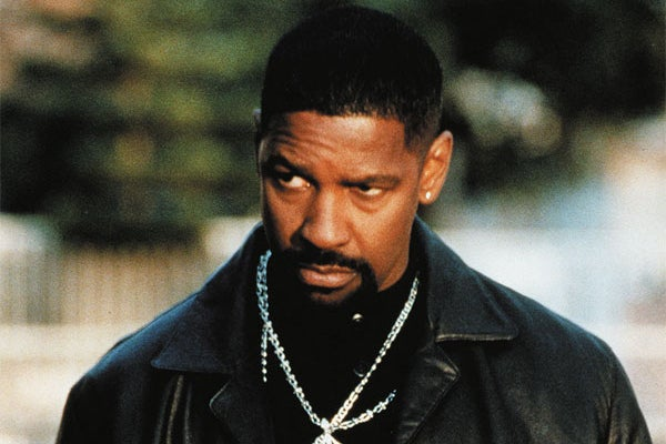 """Denzel Washington's PCP-pumping, drug money-stealing, street justice-dealing crooked cop was a rare villainous turn for the charismatic actor, and a far cry from the historical heroics of Malcolm X. That said, it'd be lovely if Denzel would pass up the occasional """"I'm gettin' too old for this"""" buddy drama in favor of what moviegoers really want: Virtuosity 2.0."""