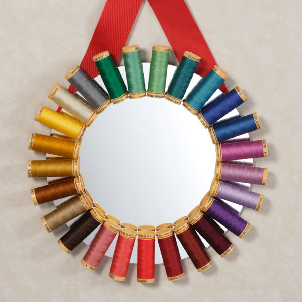 32. DIY Seamstress Mirror