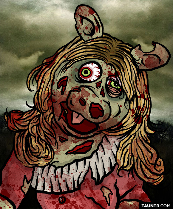 616 Best Miss Piggy Muppets Images On Pinterest: Zombie Muppets