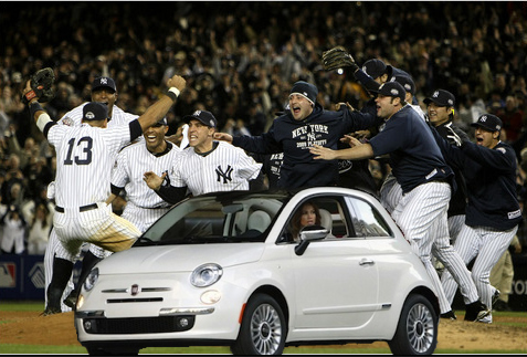 Just because you're from the Bronx doesn't mean you can crash a World Series.