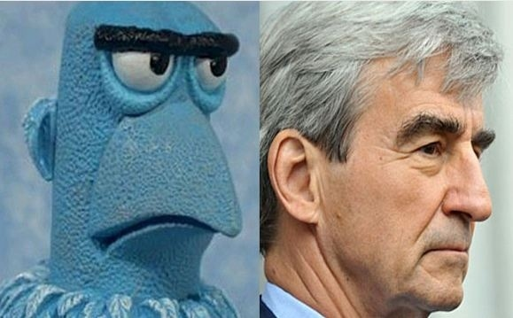 Sam the Eagle and Sam Waterston