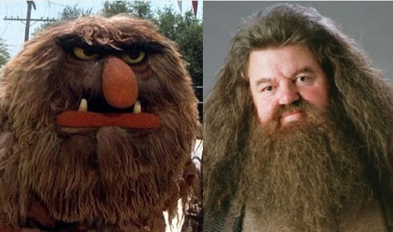 Hagrid and Sweetums