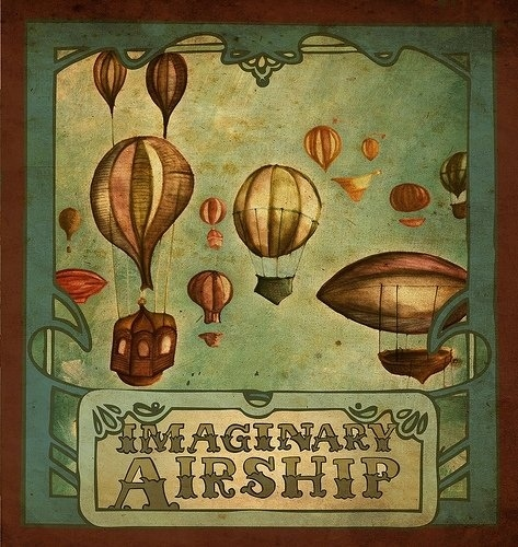 Steampunk Vol. 2 -Railroad Track-by Imaginary Airship