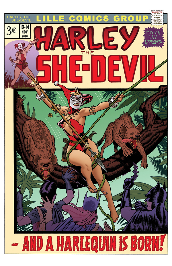 Harley of the Jungle by Joe Quinones