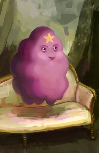 Lumpy Space Princess Portrait by indolentjellyfish