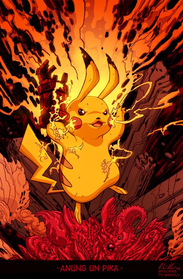 Devil Pikachu by korintic