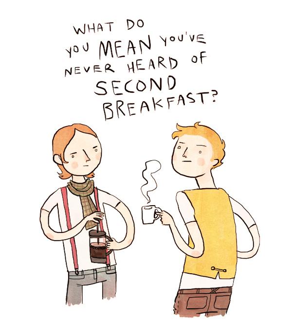 Hipster hobbits!