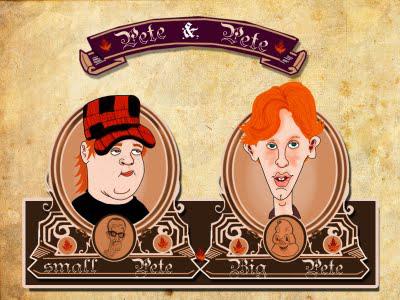 Small Pete/Big Pete by Makinita