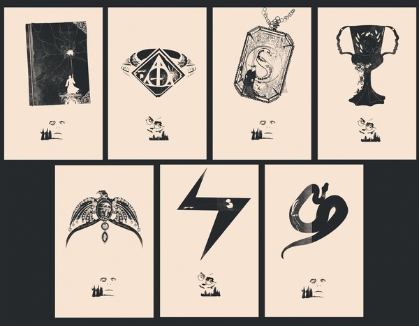 The Full Set of All 7 Horcruxes