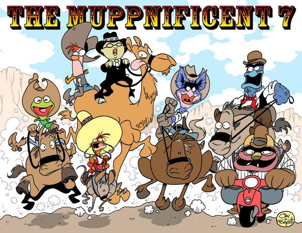 The Muppnificent 7 by Jay P. Fosgitt