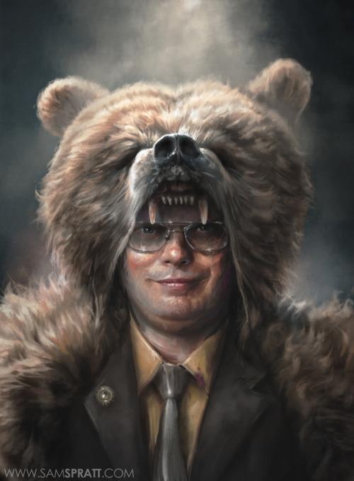 Dwight by Sam Spratt