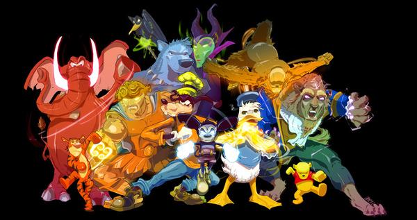 Badass Disney by C Clancy