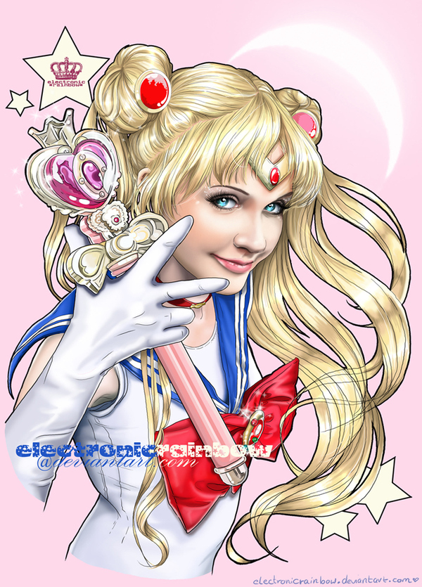 Realistic Sailor Moon by Electronic Rainbow