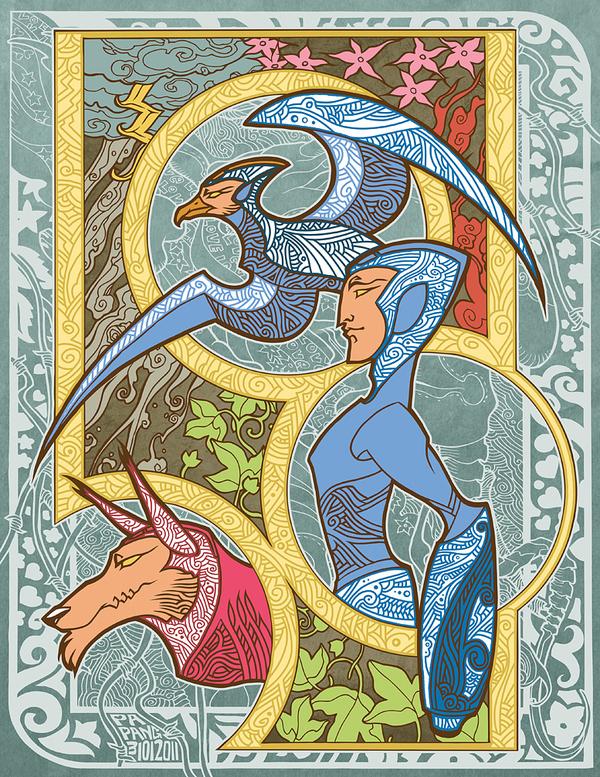 Ancient Mega Man by Anak Binal