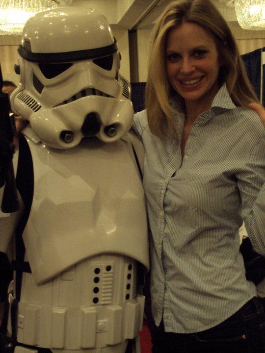 Bonus : Pam from True Blood + a Stormtrooper