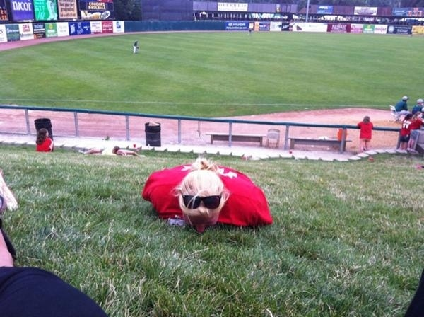 Minor League plank #2