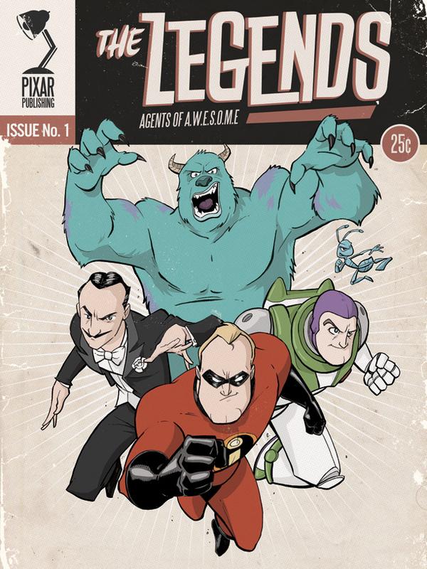 The Legends by Adamn Limbert