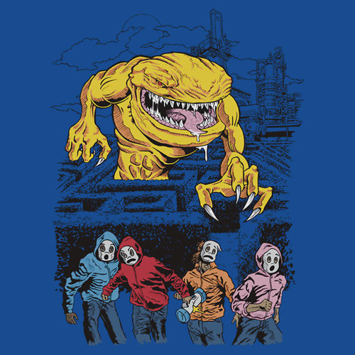 Scary Pacman by Shawn Conn