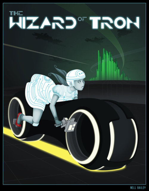 The Wizard of Tron by Nell Bailey