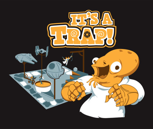 It's a Trap by Josh Alves