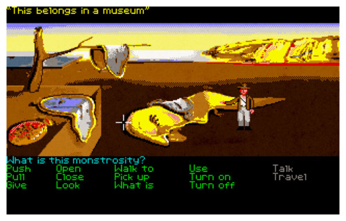Indiana Jones and the Last Crusade: The Graphic Adventure and Salvador Dali's 'The Persis...